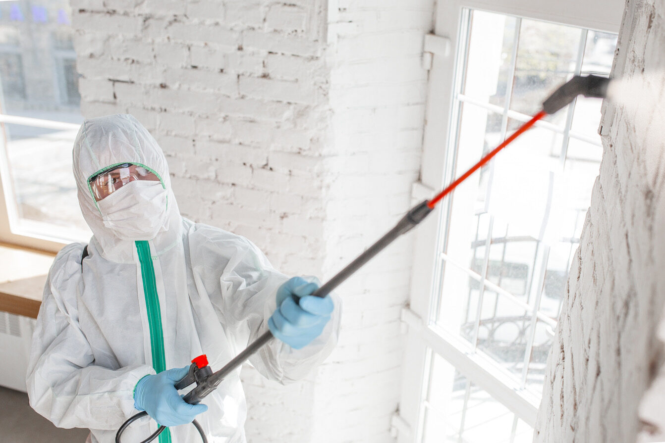 sanificazione ambientale effettuata da un team specializzato